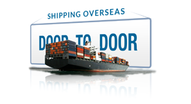 Door to Door shipping service